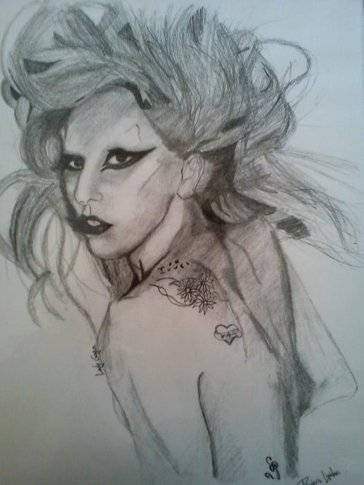 Lady Gaga by Mitsos